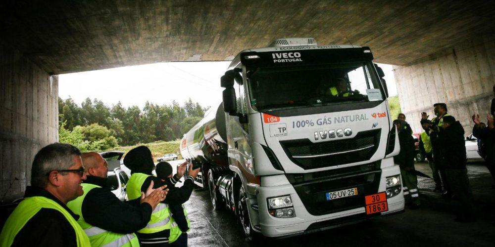Greve dos motoristas de transporte de combustíveis