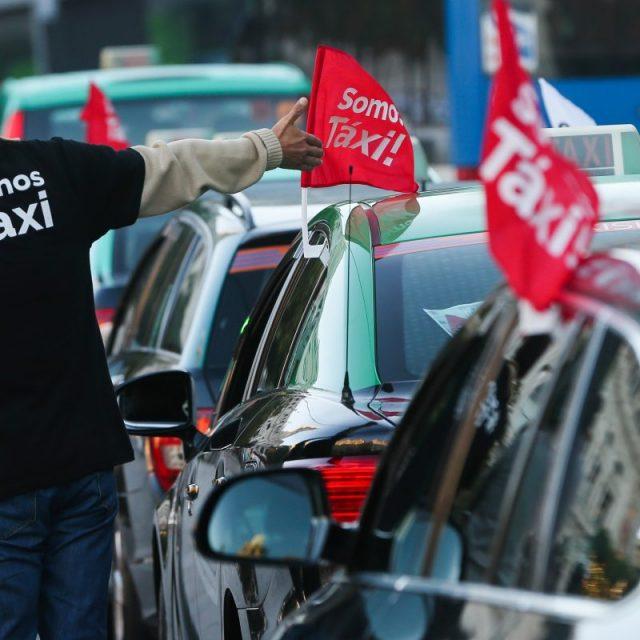 Concentração de Táxis
