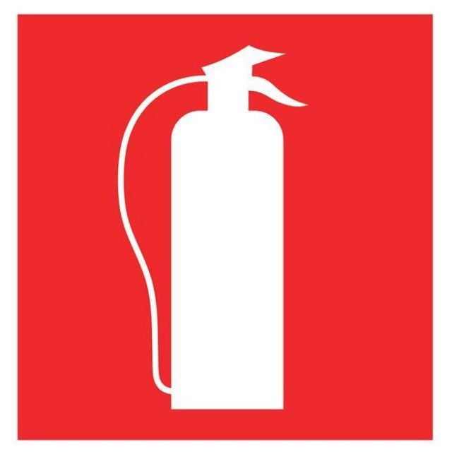 Extintor – Pictograma